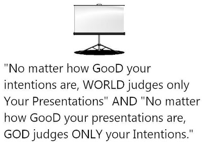 Intentions and Presentations